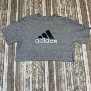 Repurposed Adidas Crop Top
